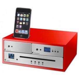 Pro-Ject DESIGN BOX ACRYL 4iP - RED