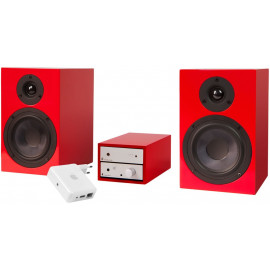 Pro-Ject Set HiFi AirPlay Black-Red