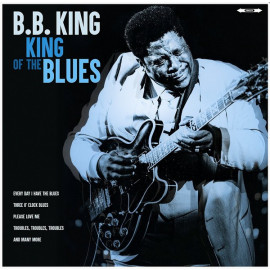 B.B. KING – KING OF THE BLUES 2018 (02081-VB, 180 gm.) BELLEVUE/EU MINT (5711053020819)