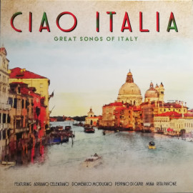 V/A – CIAO ITALIA - GREAT SONGS OF ITALY 2018 (02098-VB, 180 gm.) BELLEVUE/EU MINT (5711053020987)