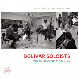 Bolivar Soloists - Musica de Astor Piazzolla 2012 (BMS 1202 V, Ltd.) The Berliner Direct