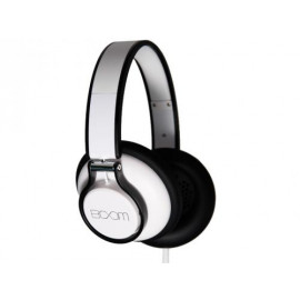 BOOM rogue over-ear dj headphone, white