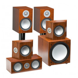 Monitor Audio Silver 100/FX/centre150/W12set 5.1 walnut