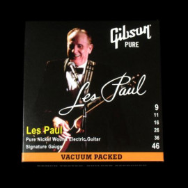 Gibson SEG-LPS LES PAUL SIG. PURE NICKEL WOUND .009-.046