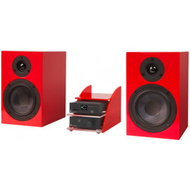 Pro-Ject Set HiFi Mediaplayer Black-Red