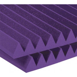 Auralex 3'' Studiofoam Wedges - 2'x4' 8-pack, Purple