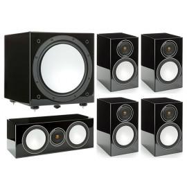 Monitor Audio Silver 100/102/centre150/W12 High Gloss Black