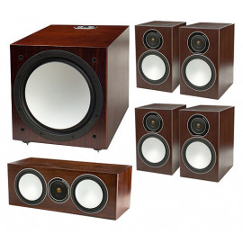 Monitor Audio Silver 100/50/c150/W12 set 5.1 walnut
