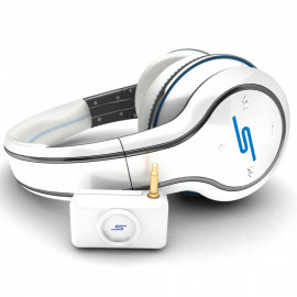 SMS SYNC by 50 Wireless Over-Ear White