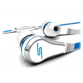 SMS STREET by 50 Wired Earbuds White