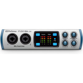 PRESONUS Studio 2|6 USB 2x4 USB Audio Interface with 2 XMAX-L Preamps