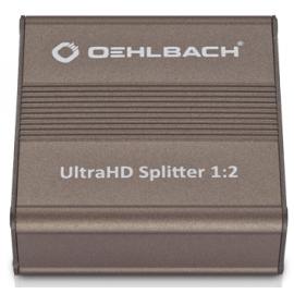 Oehlbach UltraHD Splitter 1x2