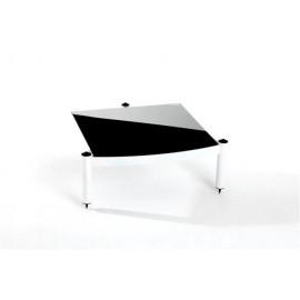 Atacama Equinox Single Shelf Module Hi-Fi RS ~ 145 mm/195mm White