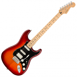 FENDER PLAYER STRATOCASTER HSS PLUS TOP MN ACB