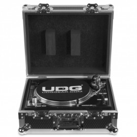 UDG Ultimate Flight Case Multi Format Turntable Silver (U92030SL