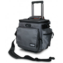 UDG Ultimate SingBag Trolley Deluxe Steel Grey/Orange