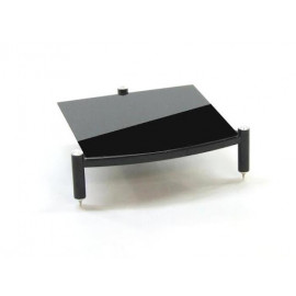 Atacama Equinox Single Shelf Module Hi-Fi RS ~ 145 mm/195mm Black
