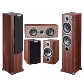 Wharfedale VARDUS 300 Home Cinema Package VINYL Wenge