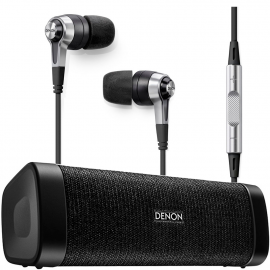 Комплект Denon Envaya Mini DSB-150BT + наушники Denon AH-C621R
