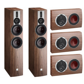 Dali Rubicon 6-LCR set 5.0 American Walnut