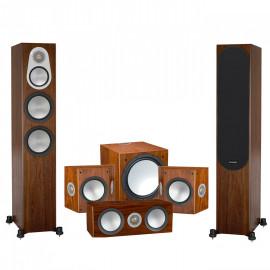 Monitor Audio Silver 300/FX/centre150/W12 walnut