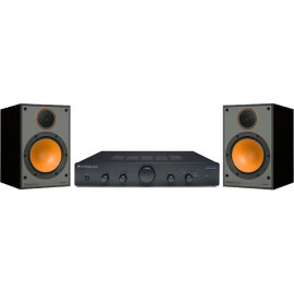 Cambridge Audio Topaz AM5 Black + Monitor Audio Monitor 100