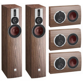 Dali Rubicon 5-LCR set 5.0 American Walnut