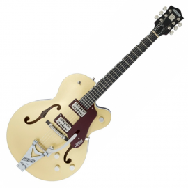 GRETSCH G6118T-135 LTD 135th ANNIVERSARY CASINO GOLD/DARK CHERRY METALLIC