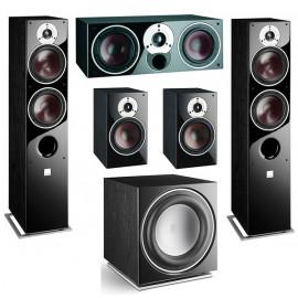 DALI Zensor 5 set 5.1 5/1/vocal/ SUB E-12F Black