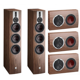 Dali Rubicon 8-LCR set 5.0 American Walnut