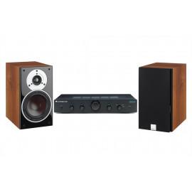 Cambridge Audio Topaz AM5 + DALI Zensor 1 Light Walnut